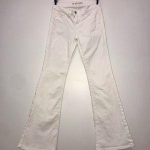 J BRAND White Bell Bottom Jeans